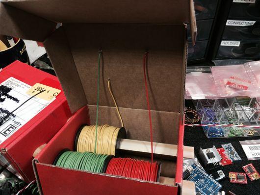 Sparkfun Shipping Box Plus Two Pieces of Pine Trim