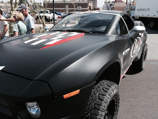 Local Motors Rally Fighter in Black and Awesome