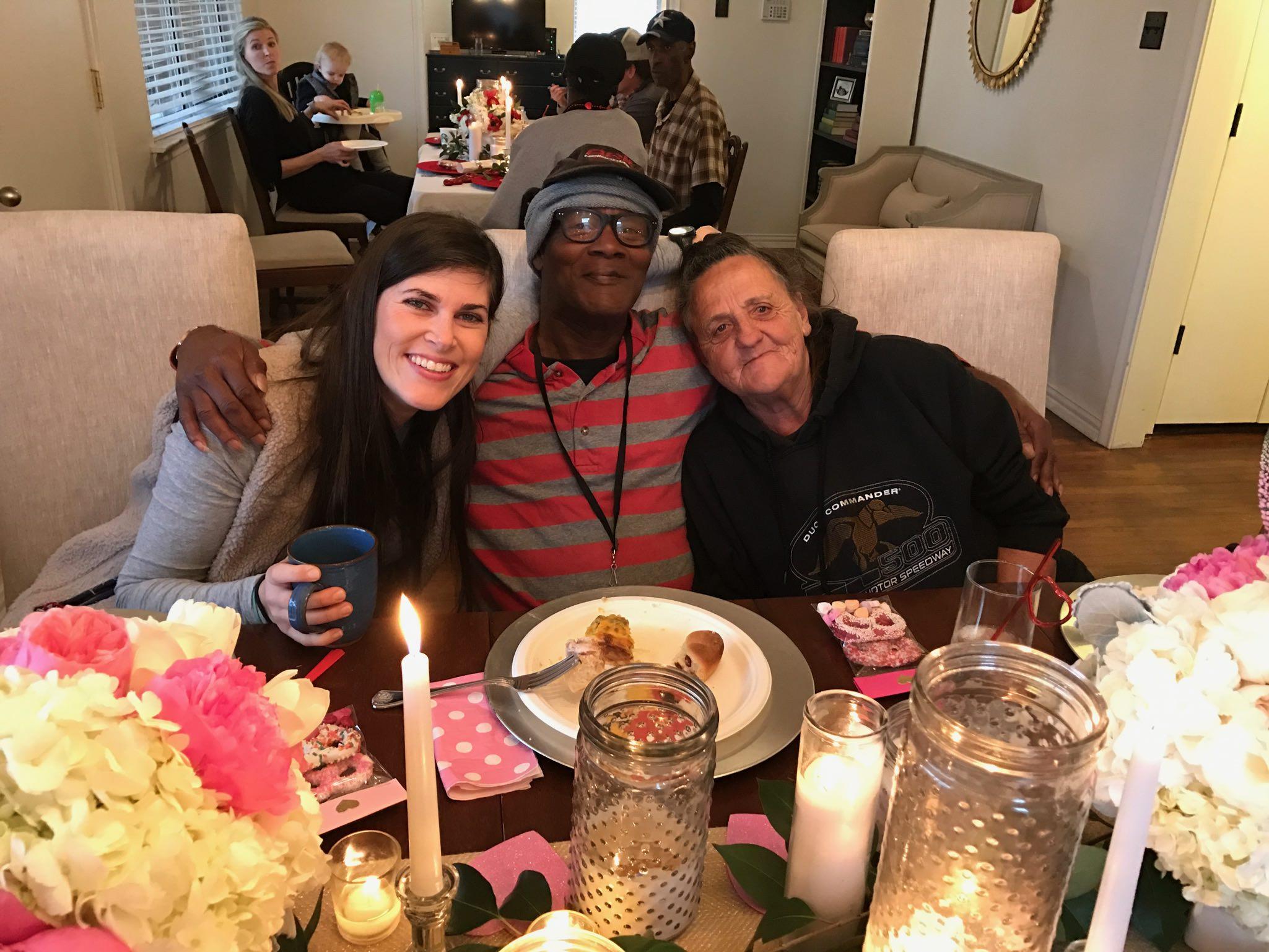 Rachel, Bobby, and Karin