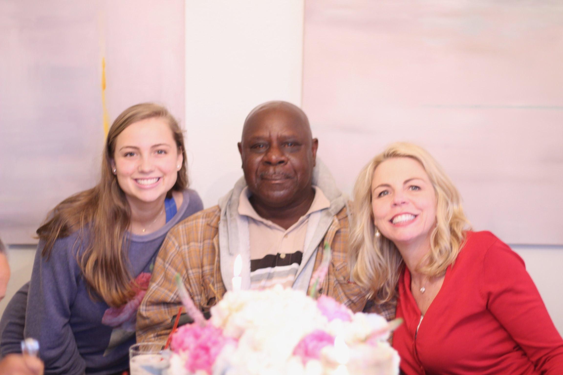 Morgan, Mr. B., and Gayle