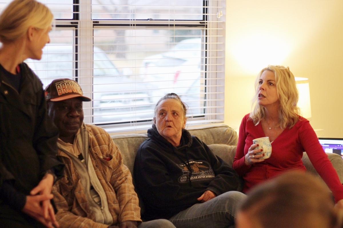Anne, Mr. B. Karin, and Gayle