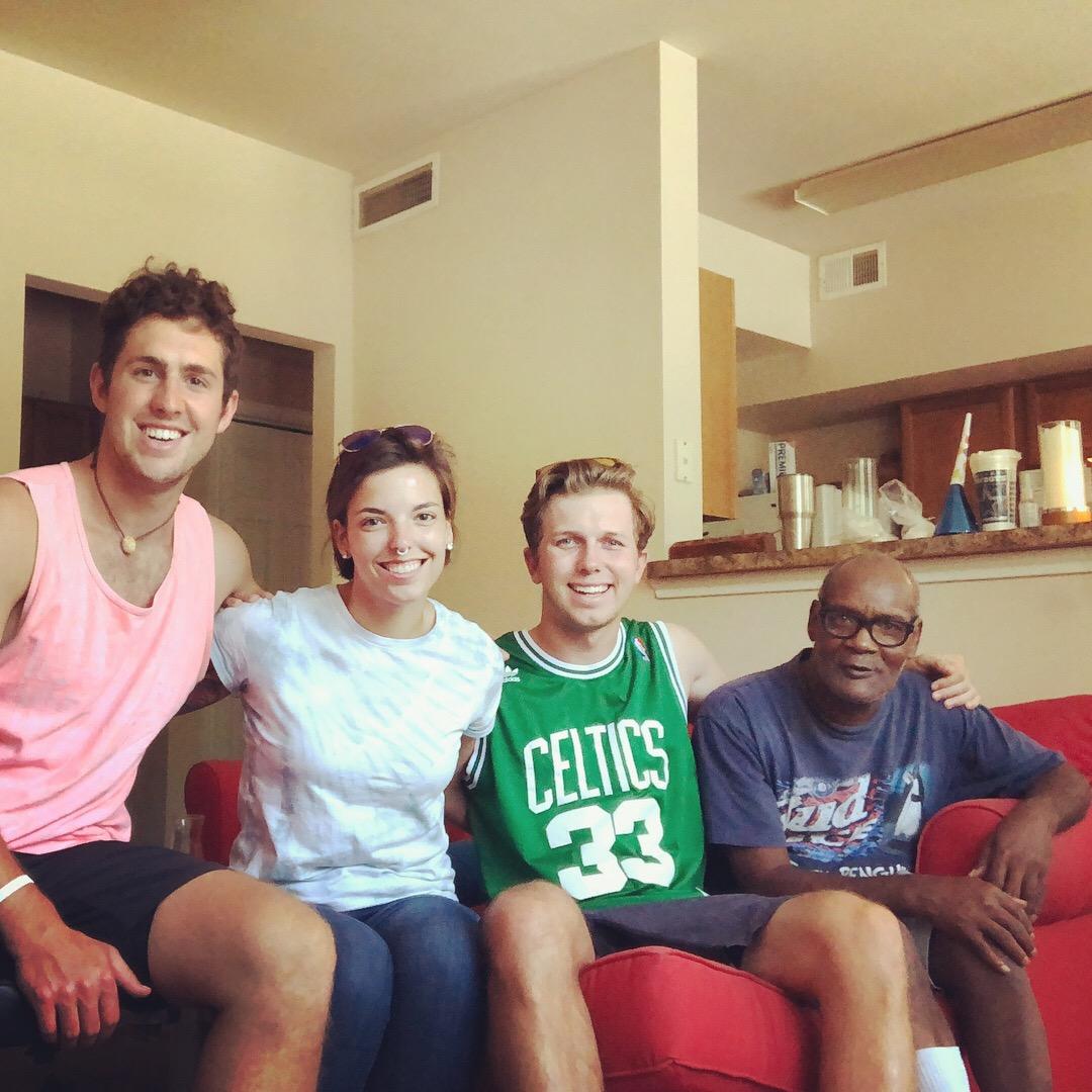 Zach, Elli, John, and Bobby