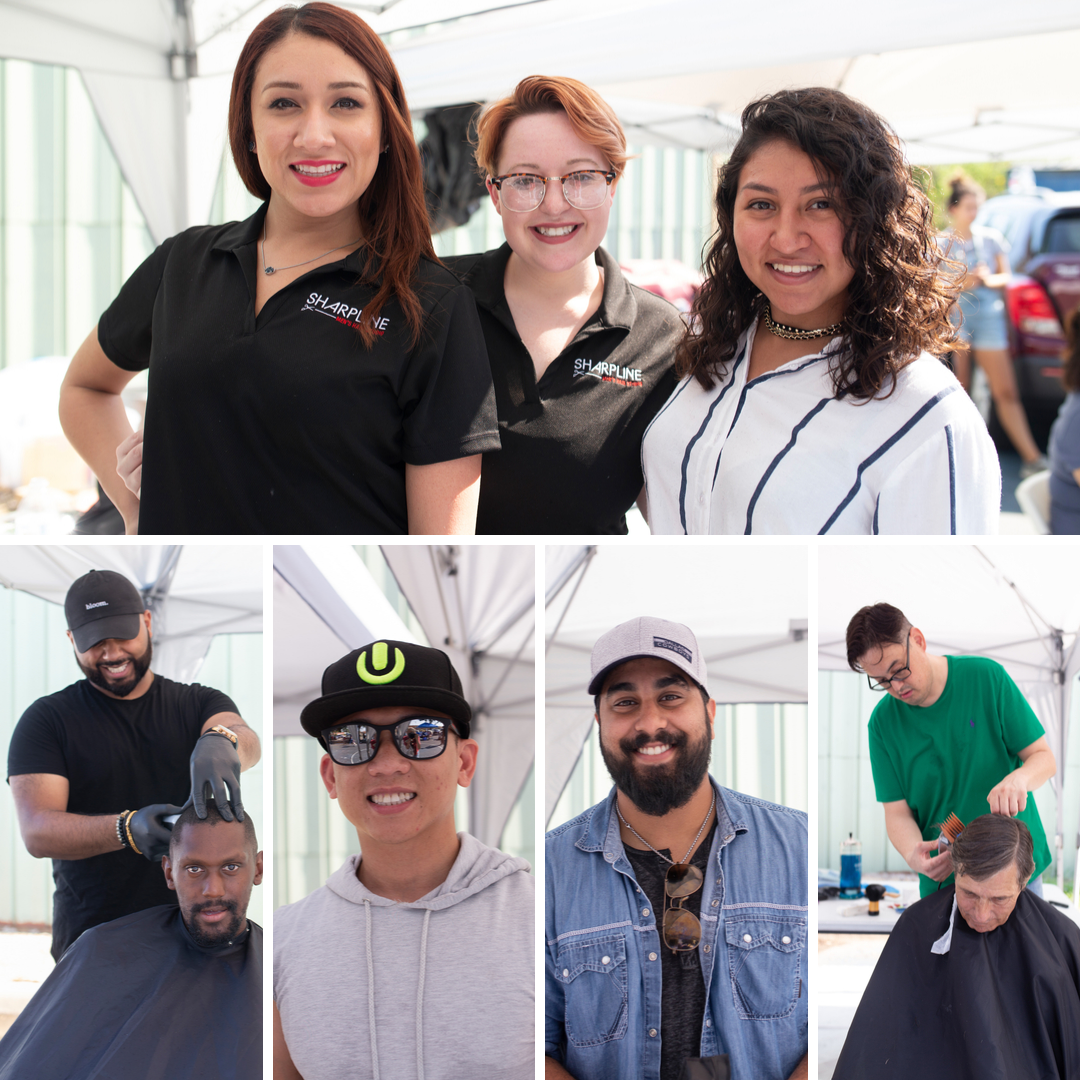 Our seven hairstylists!