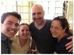 Daniel, Gretchen, Jeff &Sue