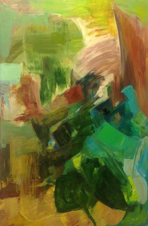 """""""In Flight"""" by Ola Aldous (52"""" x 31"""")"""