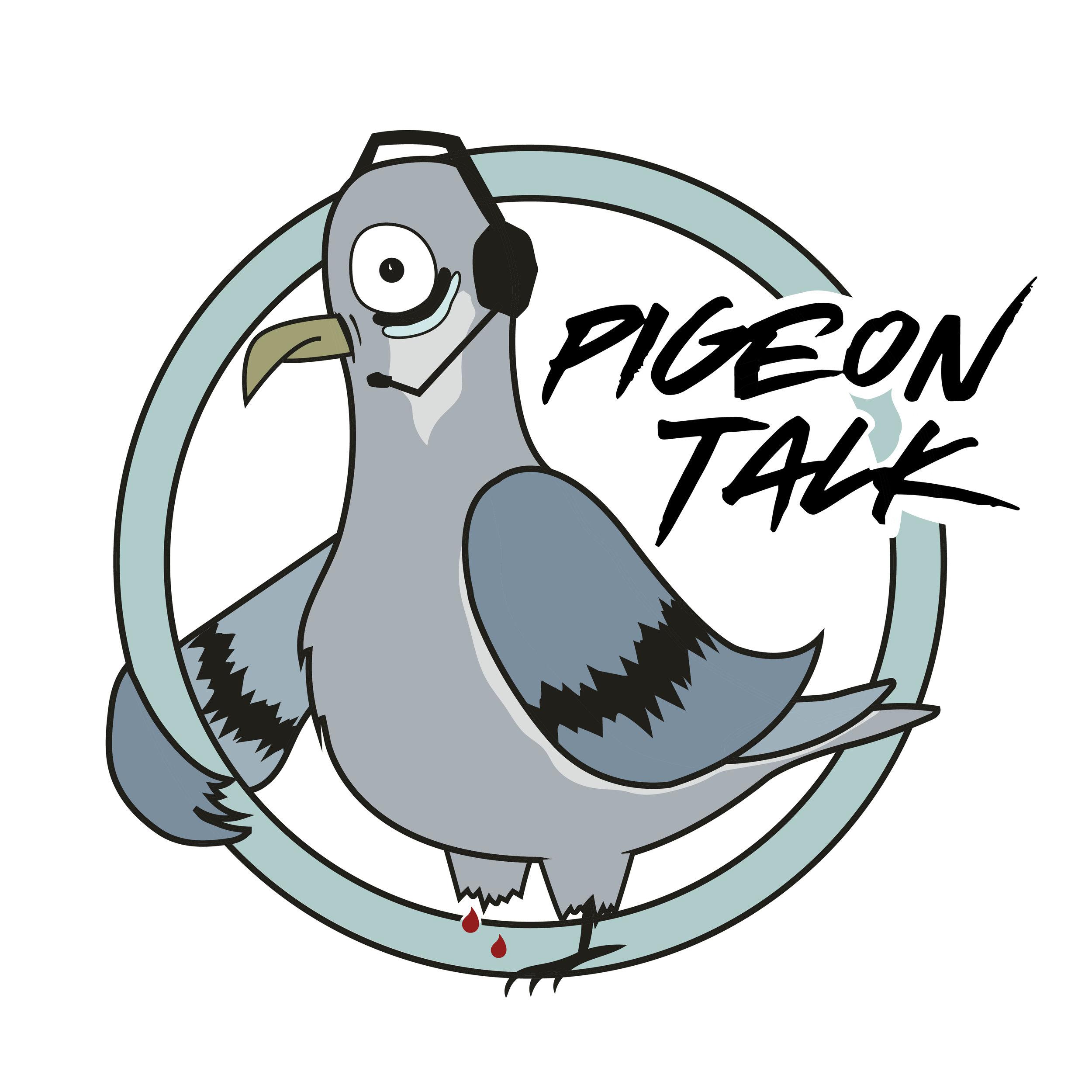 Pigeon Talk Logo