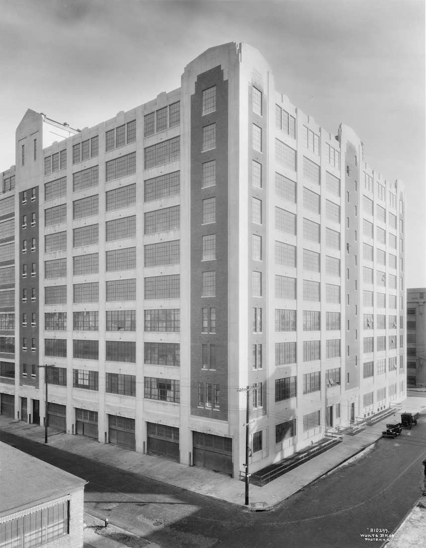 The Factory ca 1930 as the former R.H. Macy and Co. warehouse