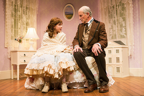 """The Nether/ San Francisco Playhouse/ 2015   """"Bill English directs with his customary sensitivity, mindful of pace — the set changes seem to occur instantaneously — and of production values, which include Theodore J.H. Hulsker's eerie sound design and Brooke Jennings' lovely period costumes.""""  -SF Examiner"""