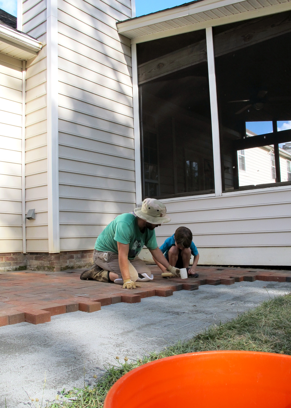 encouraging home projects with kids