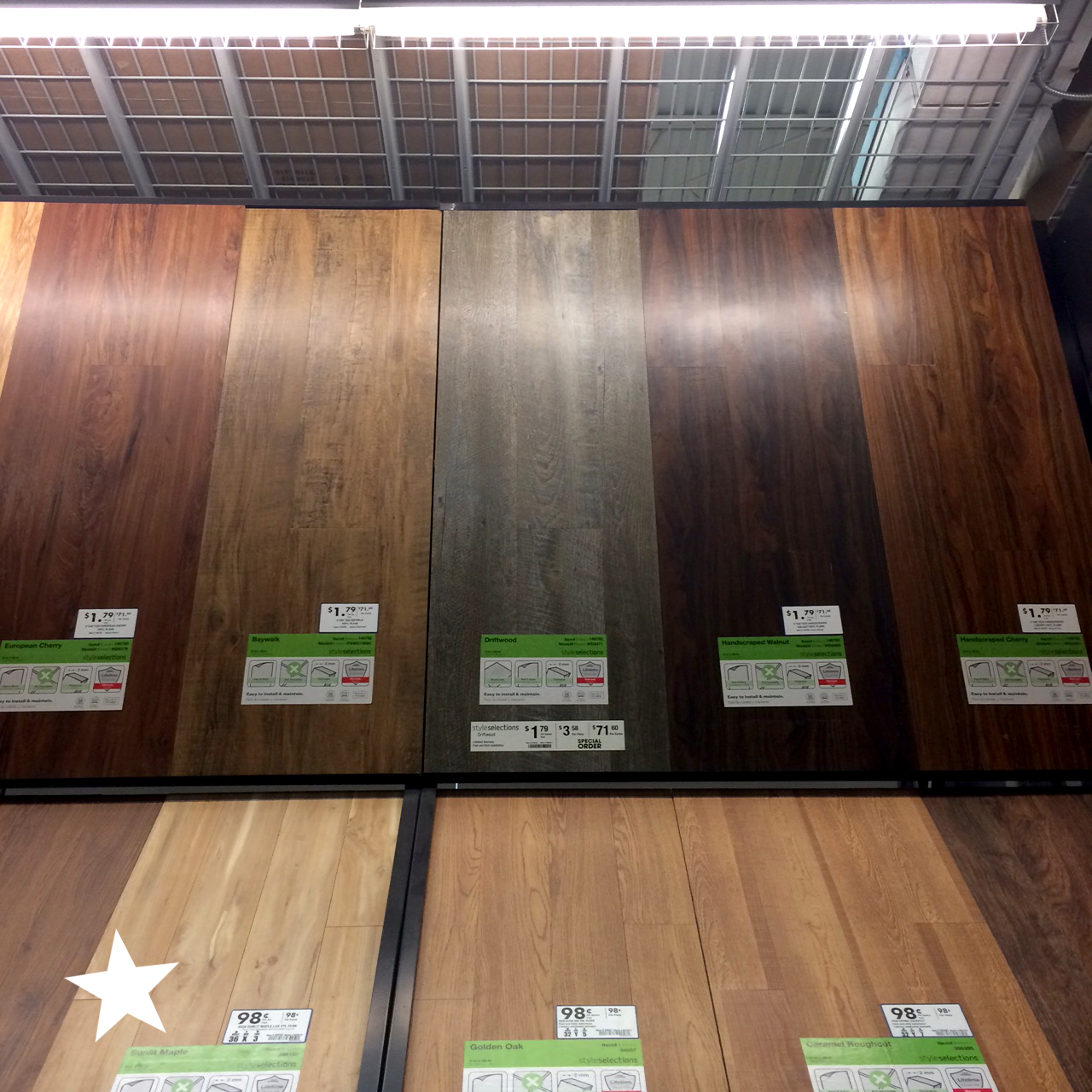 selecting the peel and stick flooring