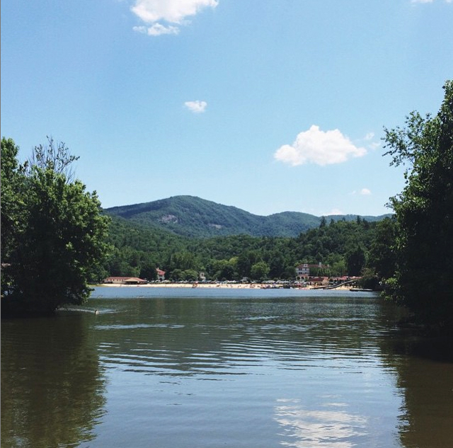 a day trip earlier this summer to Lake Lure