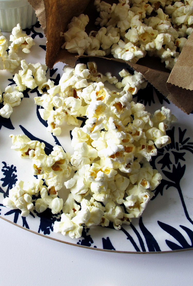 brown bag popcorn recipe || tag&tibby