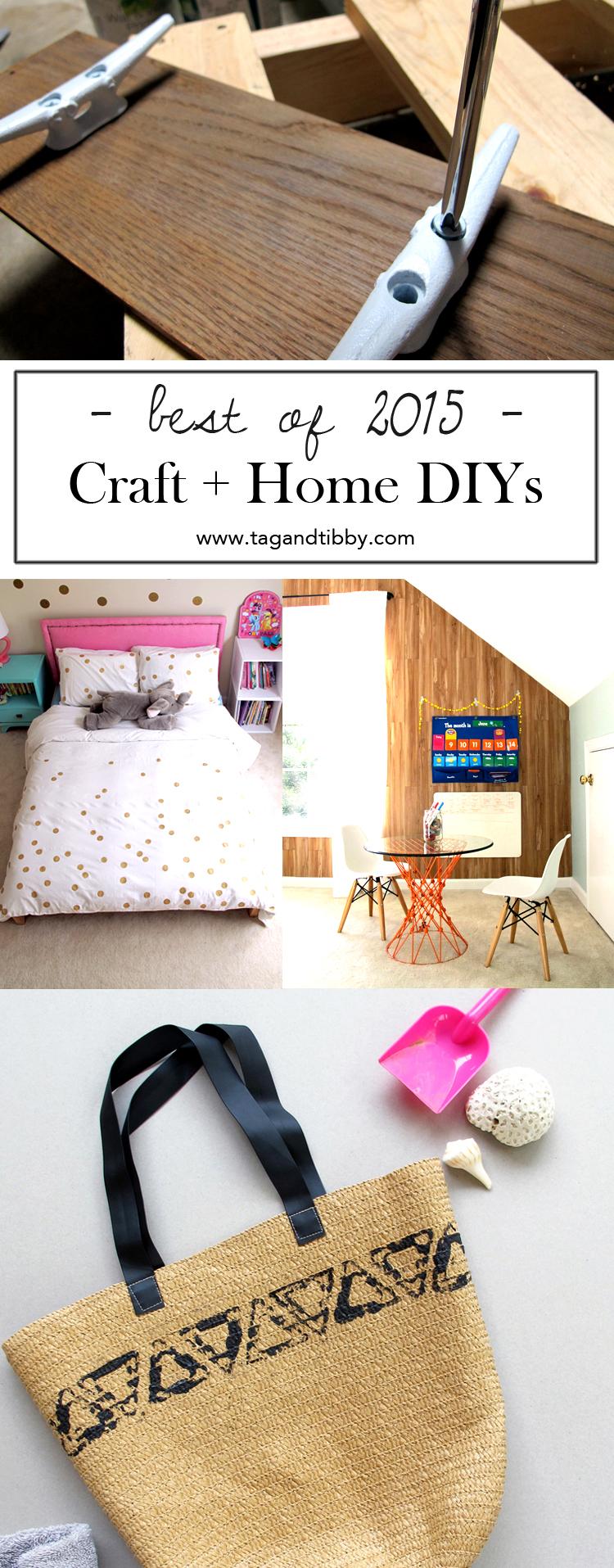 7 fun craft + home DIY tutorials   tag&tibby