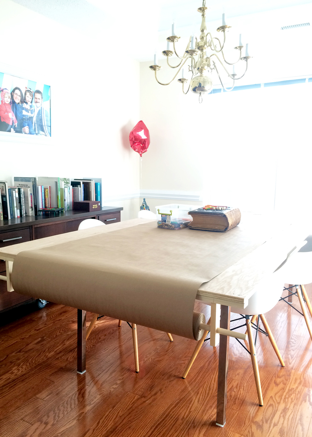 multi-purpose craft room/dining room (before) -tag&tibby