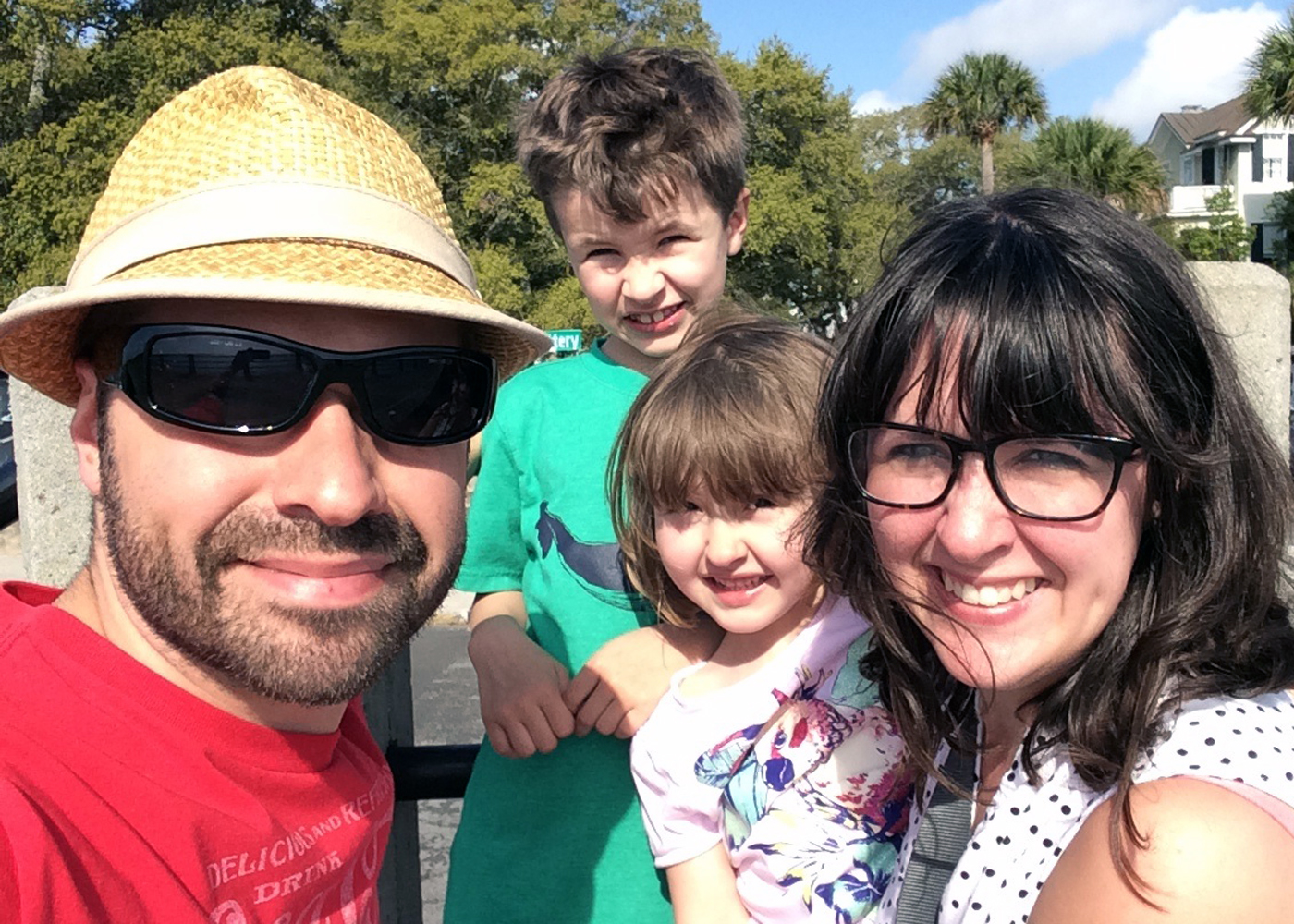Our family vacation in Charleston SC, Spring Break 2015