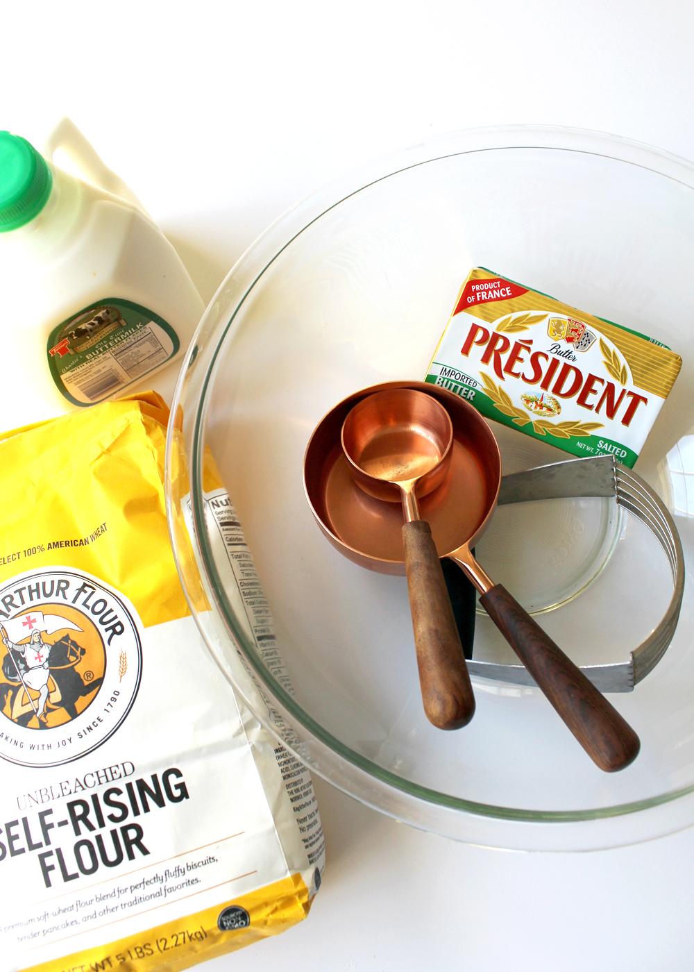 buttermilk skillet biscuits recipe