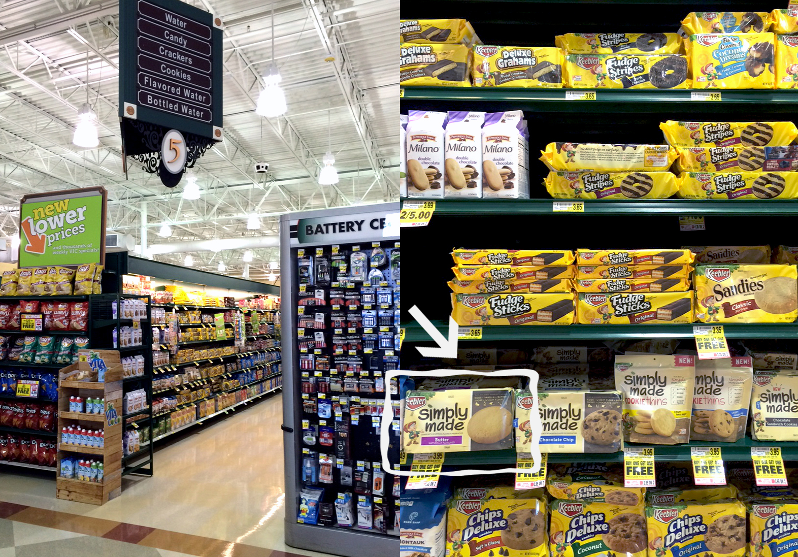 Where to Find Keebler® Simply Made Butter Cookies