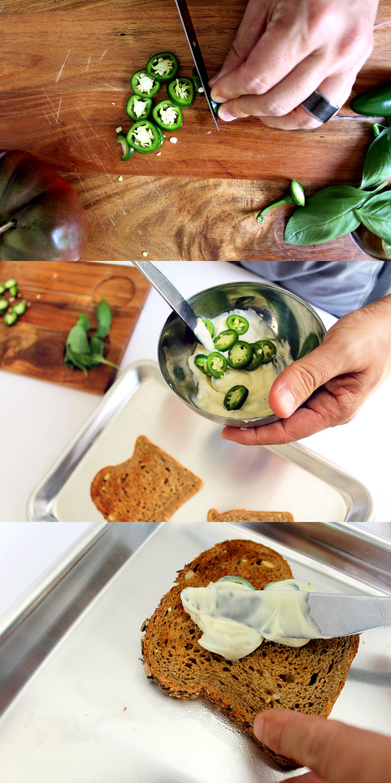 step by step how to make jalapeño mayonnaise