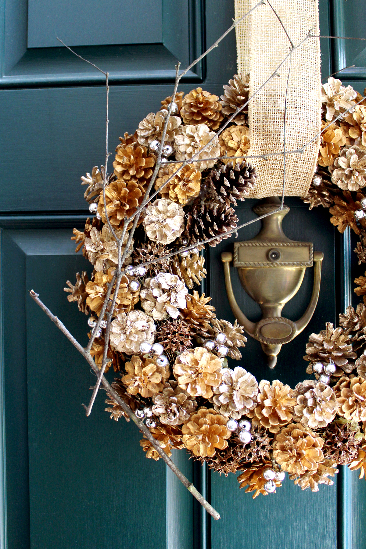 update your dated fall wreath