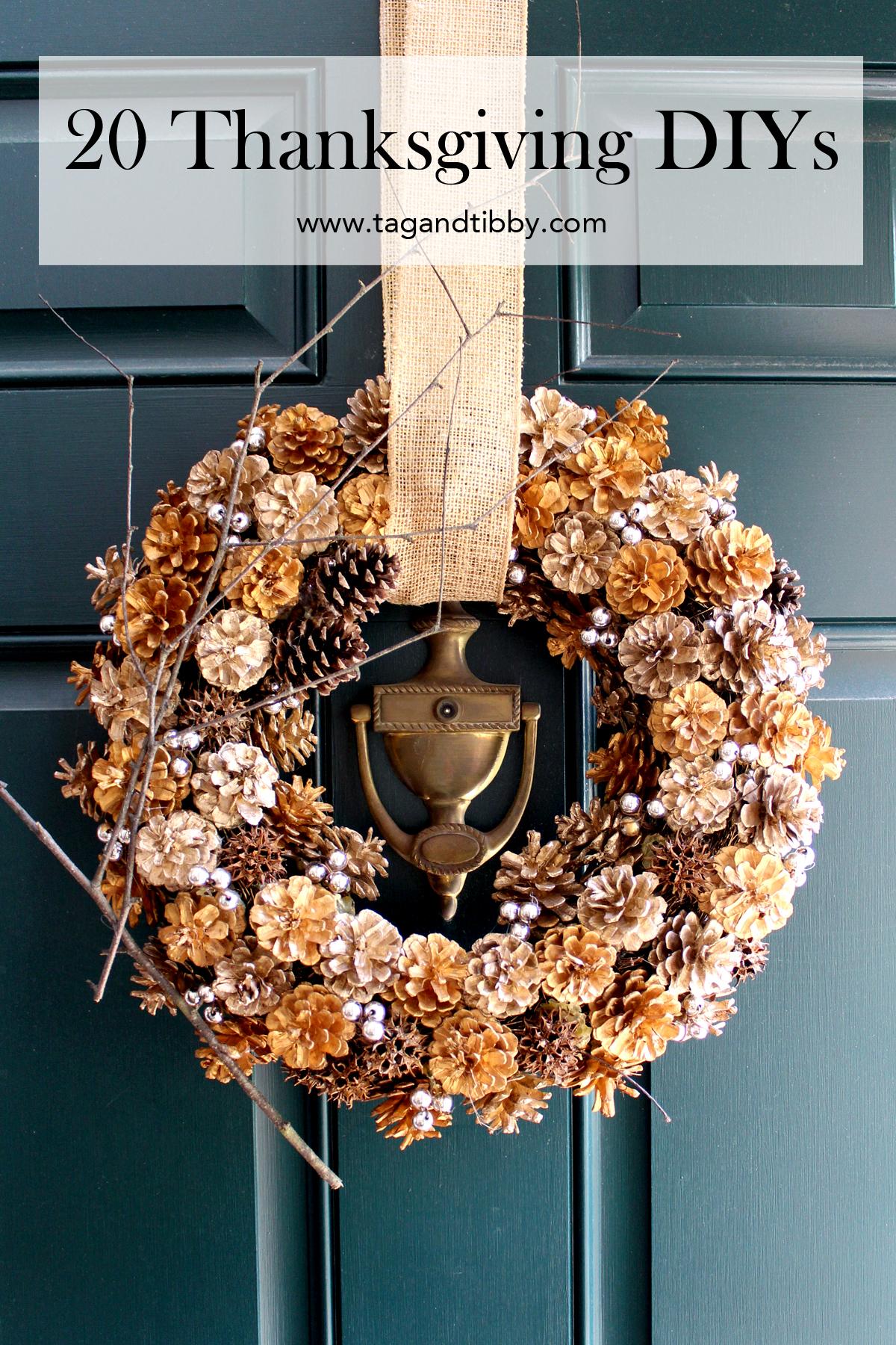 20 Thanksgiving DIY decor ideas!