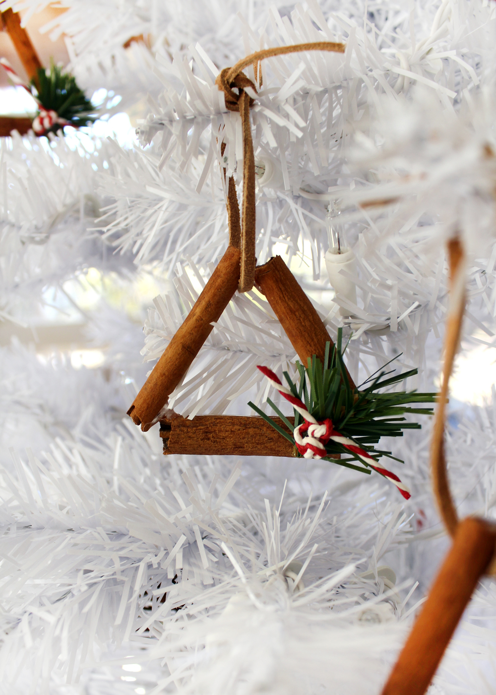 Cinnamon stick ornaments for your tree this Christmas