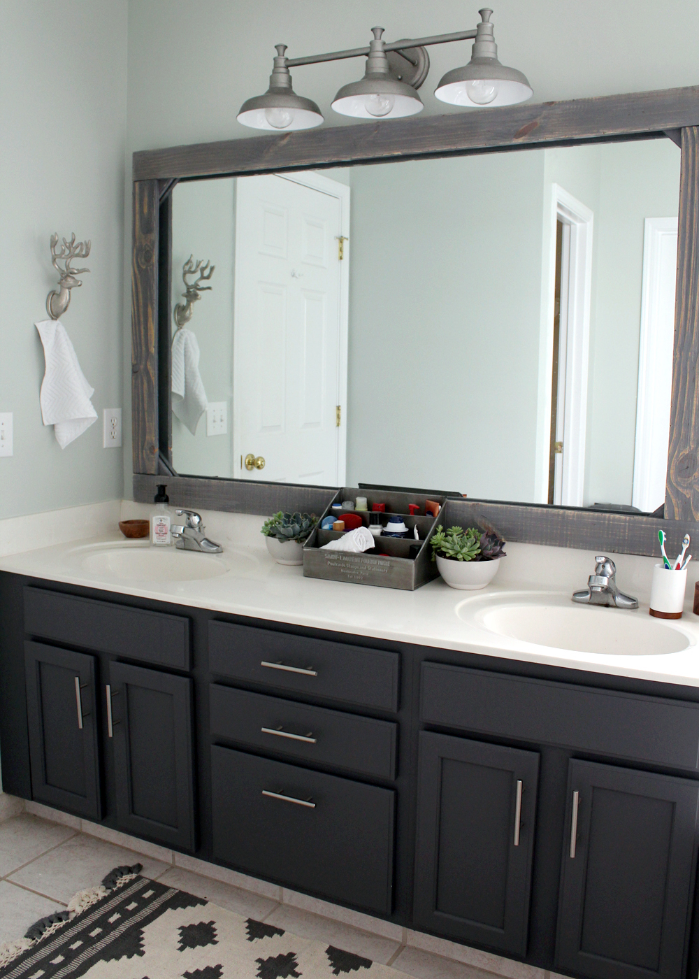 tips for updating a dated master bathroom on a budget