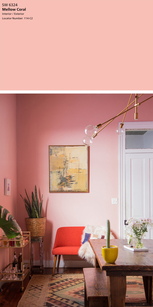 Sherwin-Williams Mellow Coral