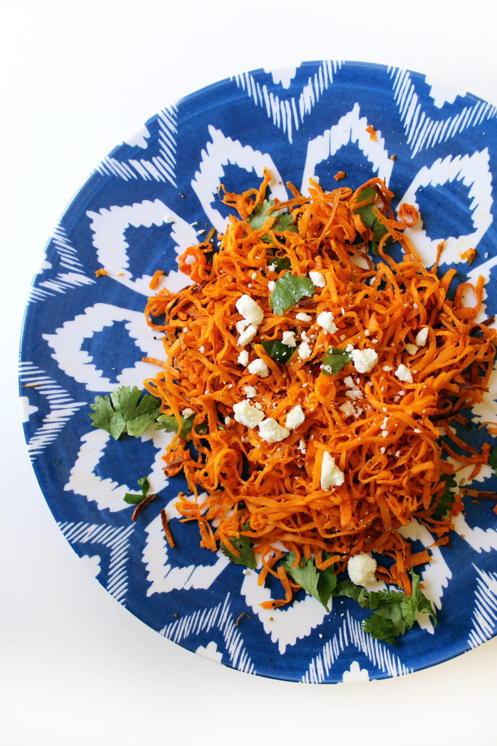 homemade cilantro sweet potato curly fries