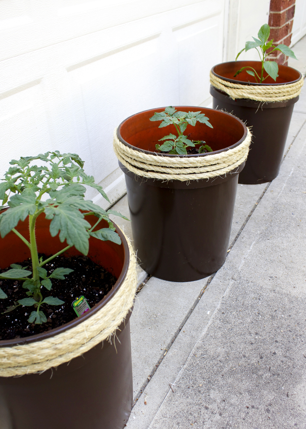 How To Make A Planter From A 5 Gallon Bucket Tag Tibby Design