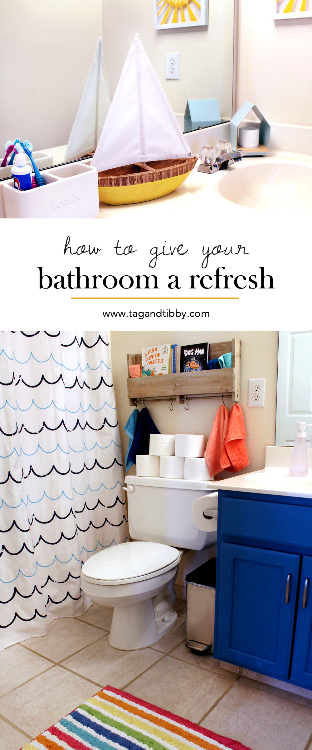 How to Give Your Bathroom a Refresh in 4 Steps