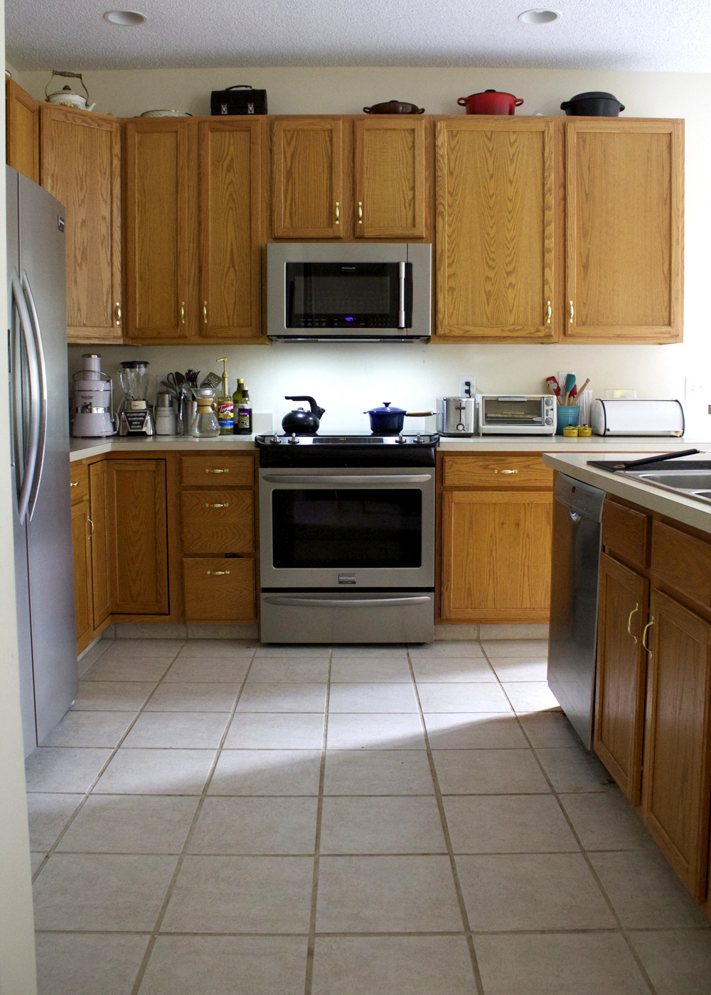 The Beginning of a Small-Budget Kitchen Makeover