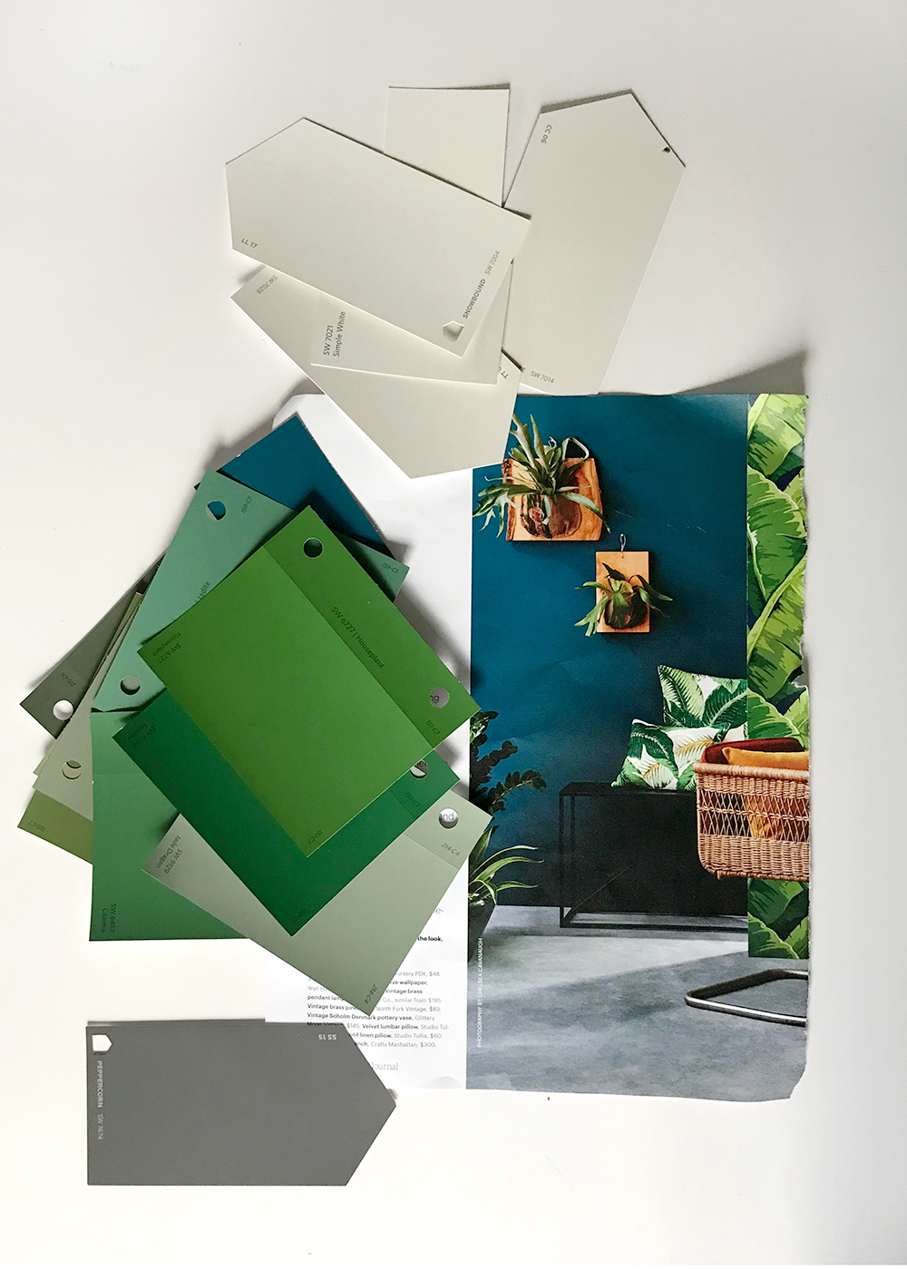 Bring all the new paint swatches home.