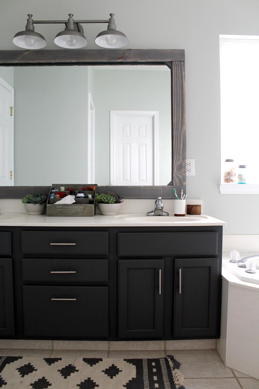 $300 master bathroom remodel #DIY #MasterBathroom