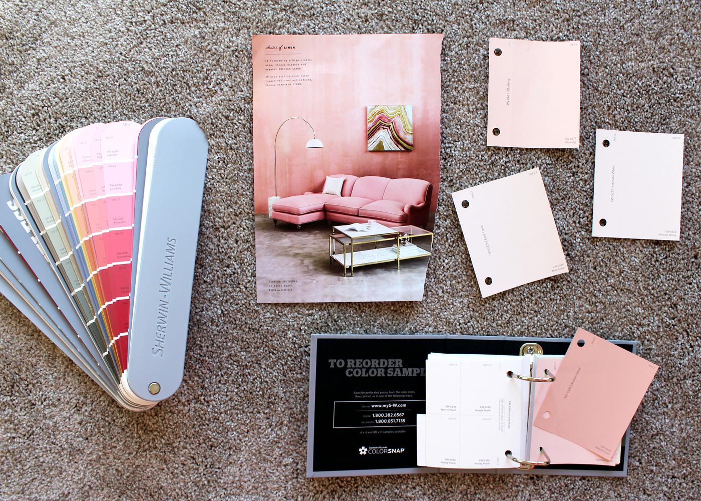 Favorite Pink Paint Colors