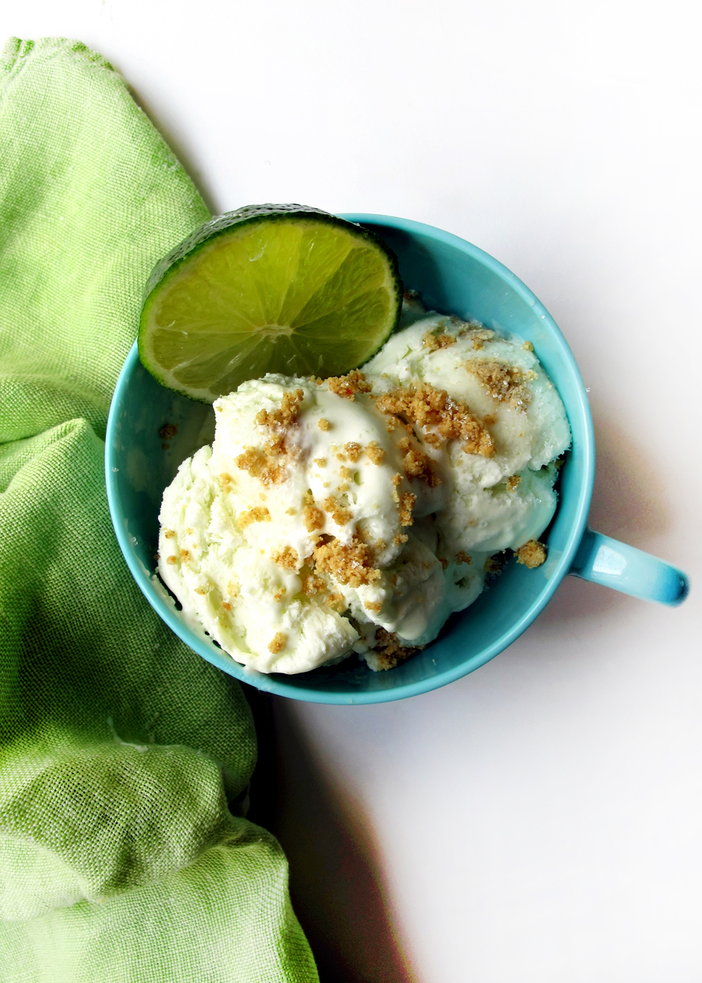 key lime pie ice cream | cheer your home with the color green this winter