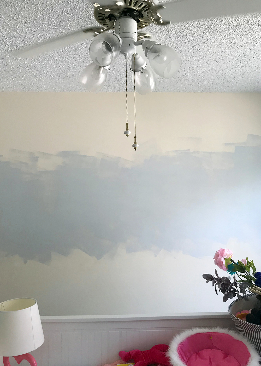 Bye to the beige walls with SW Misty
