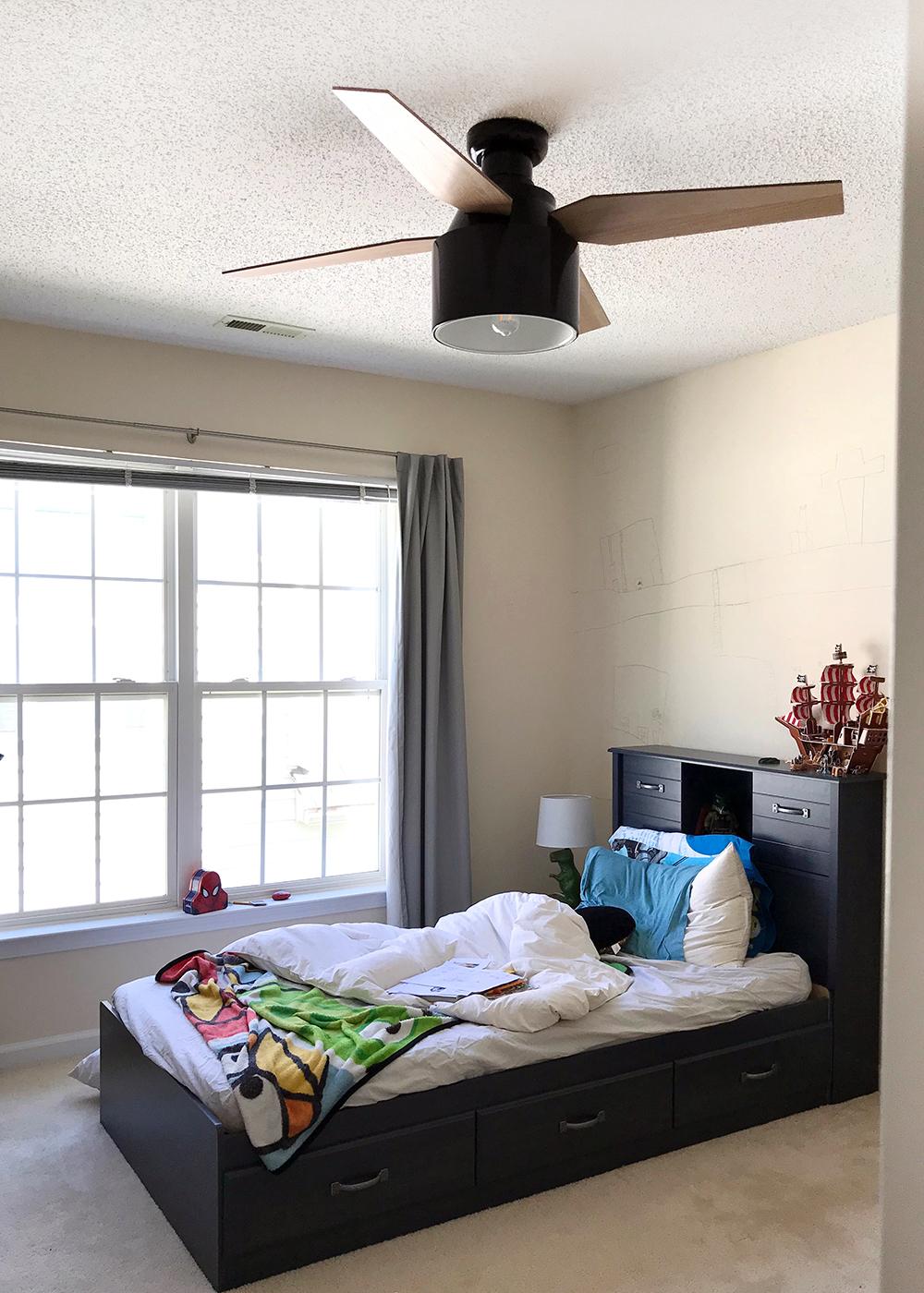 Loving the new ceiling fan