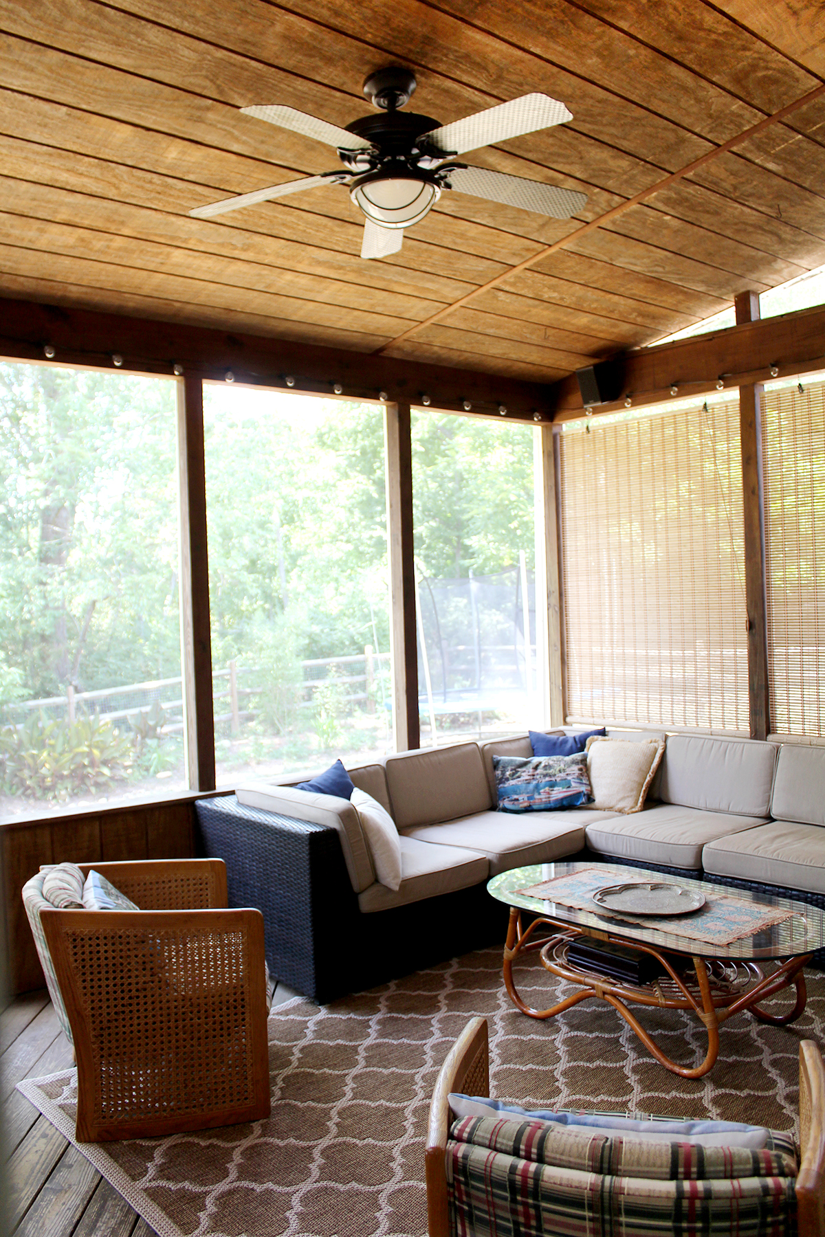 A Screened In Porch On Budget Tag Tibby Design