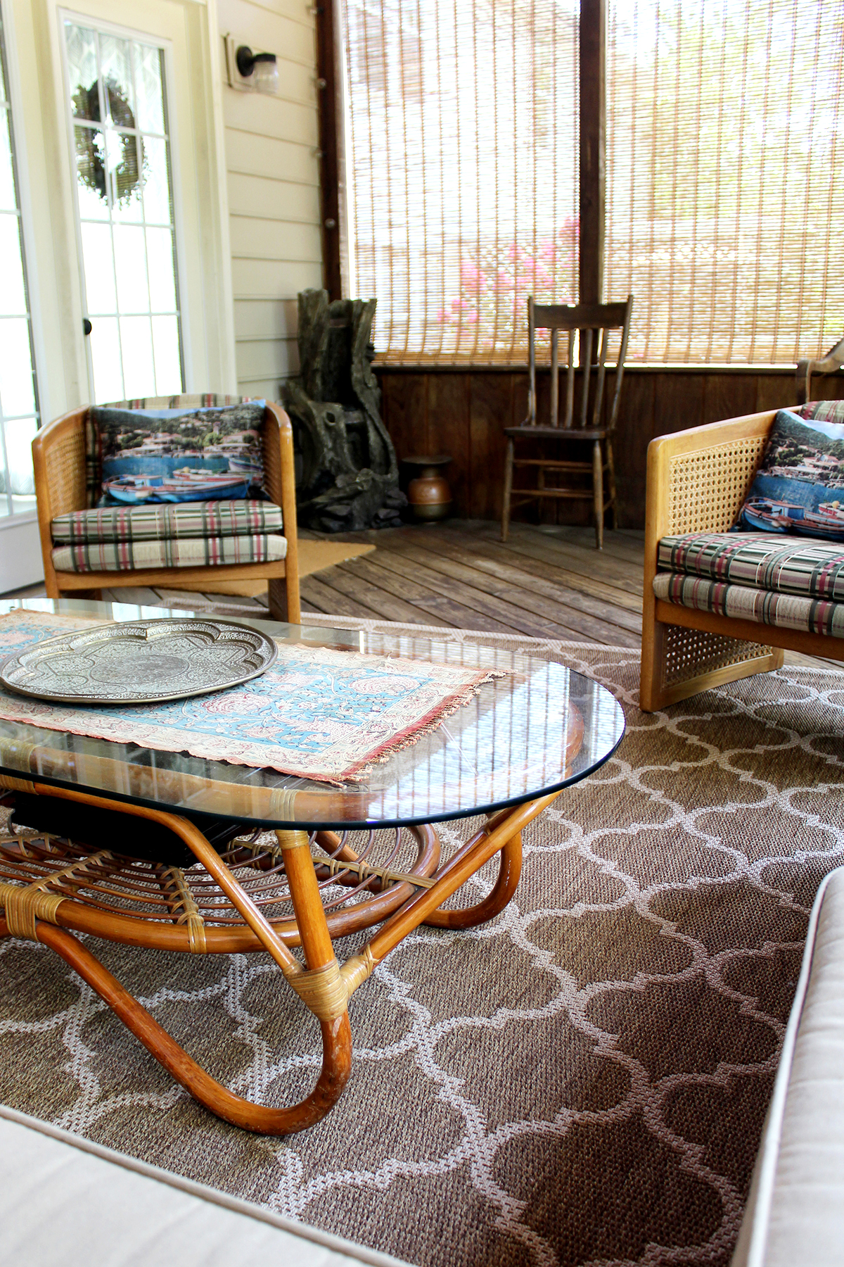 A Screened In Porch On A Budget Tag Tibby Design