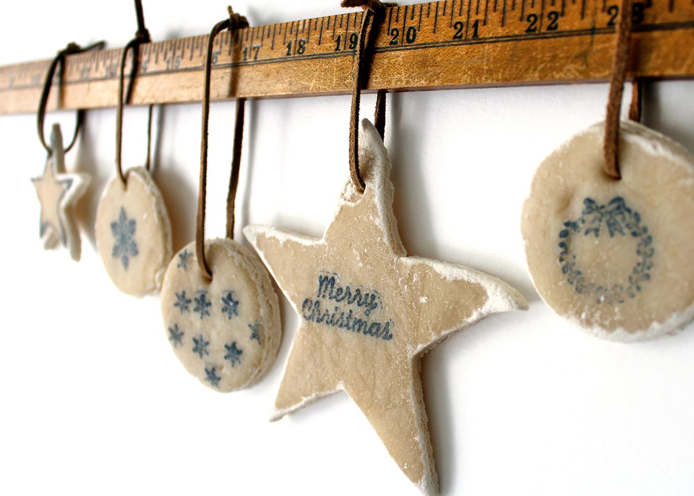 no bake salt dough ornaments
