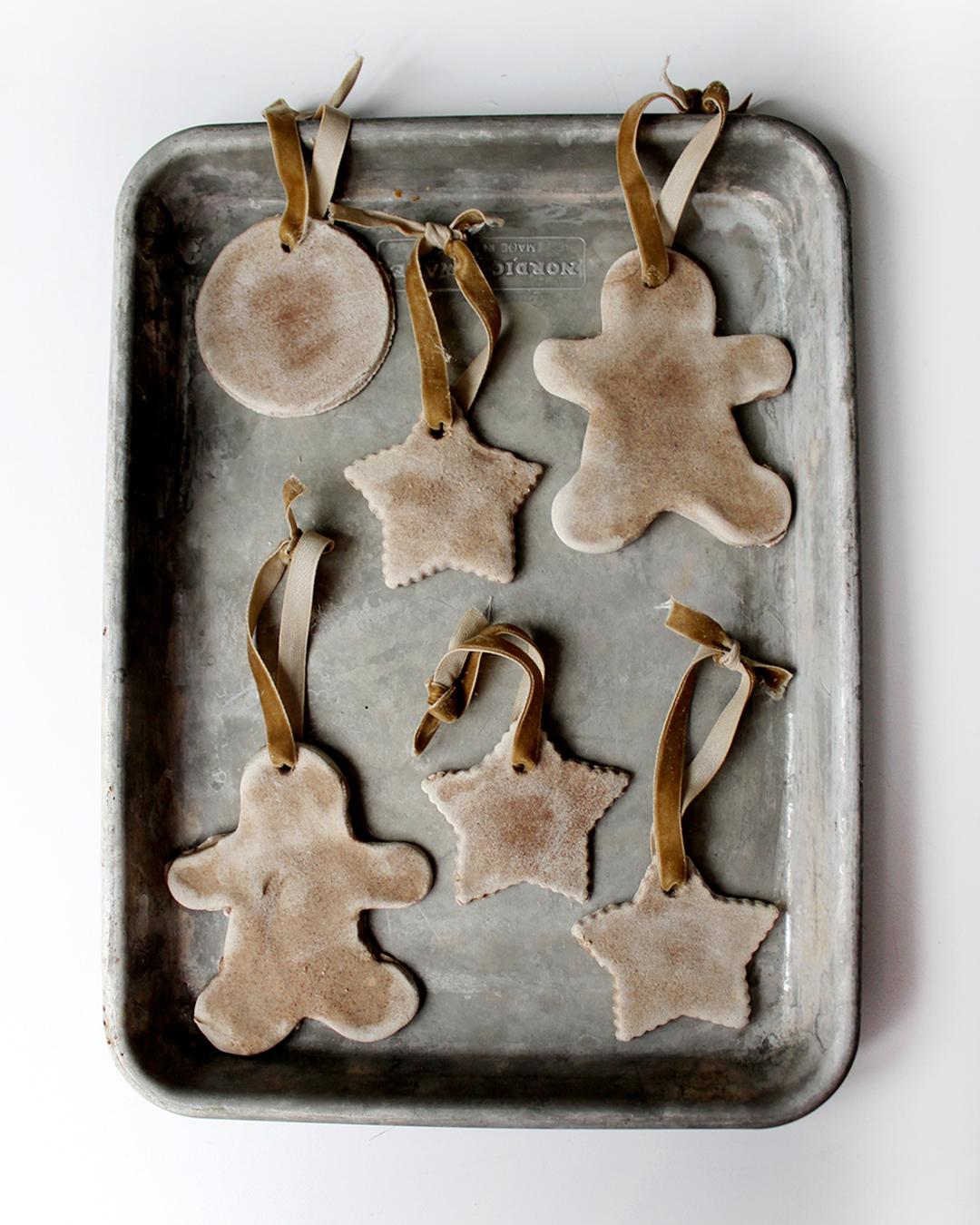 Make Salt Dough Ornaments With Cinnamon & Maple Ginger Tea