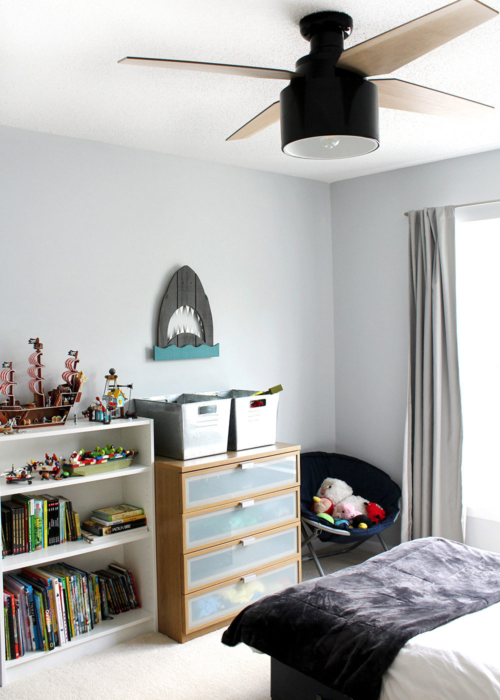 8 Modern-Rustic Ceiling Fans for under $250 | Top 10 Articles of the Year on Tag & Tibby