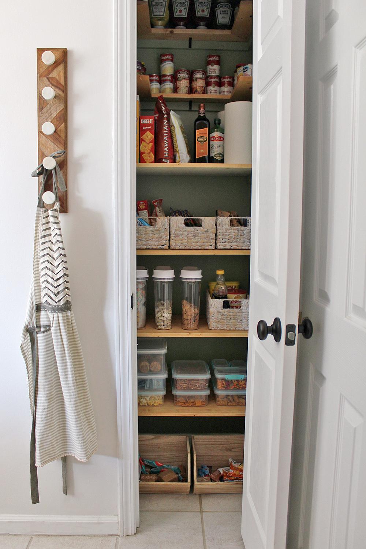 kitchen pantry on a budget
