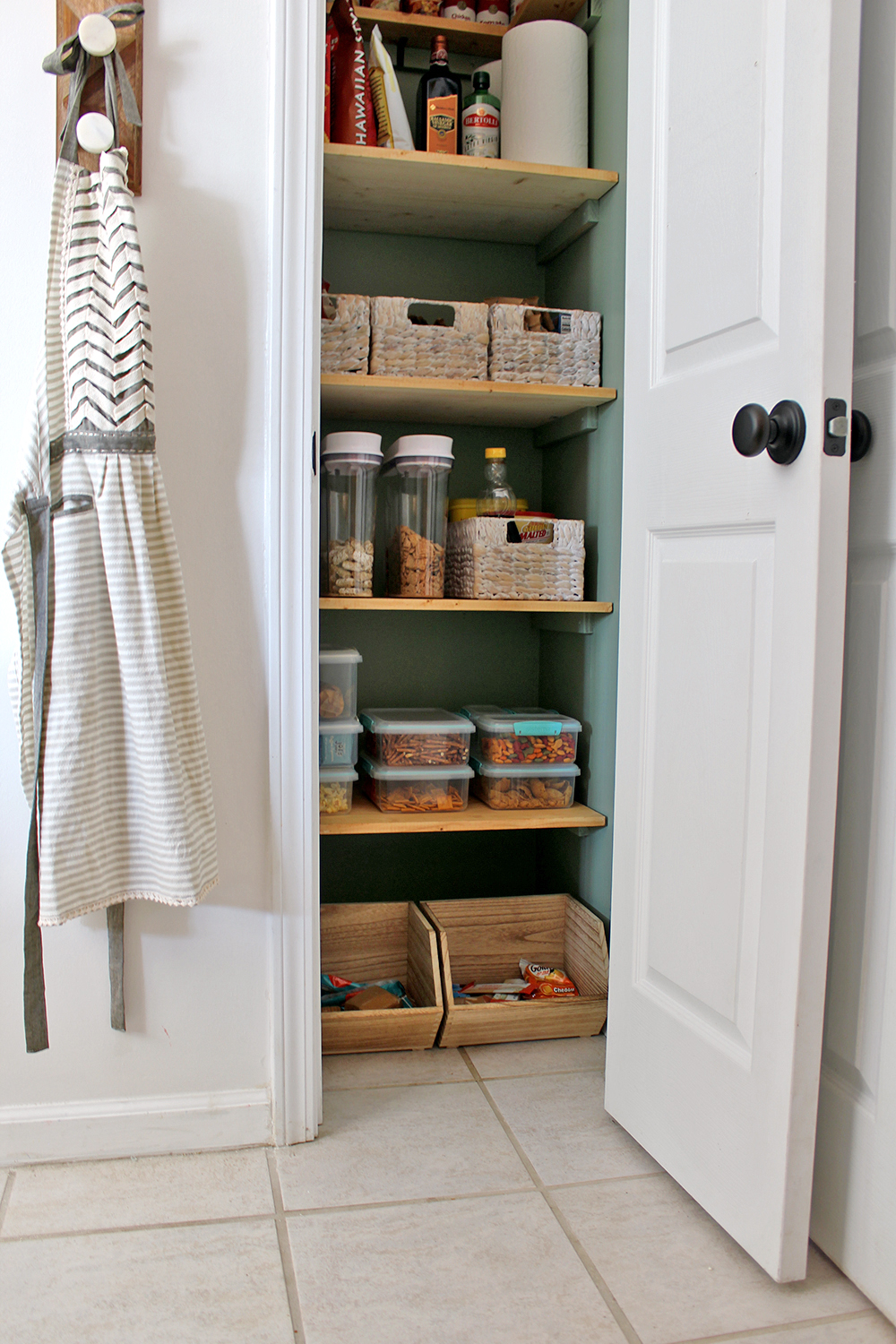 A Clever Kitchen Pantry Makeover for $300