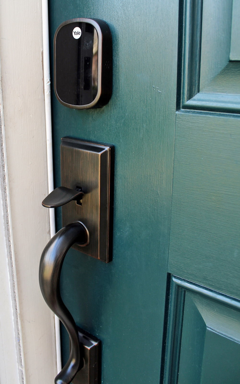 Why We Installed an Electronic Keyless Door Lock — Tag & Tibby Design
