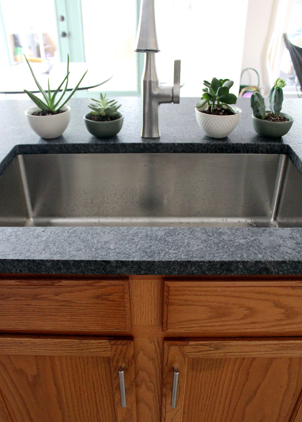 Picked Leathered Granite Countertops