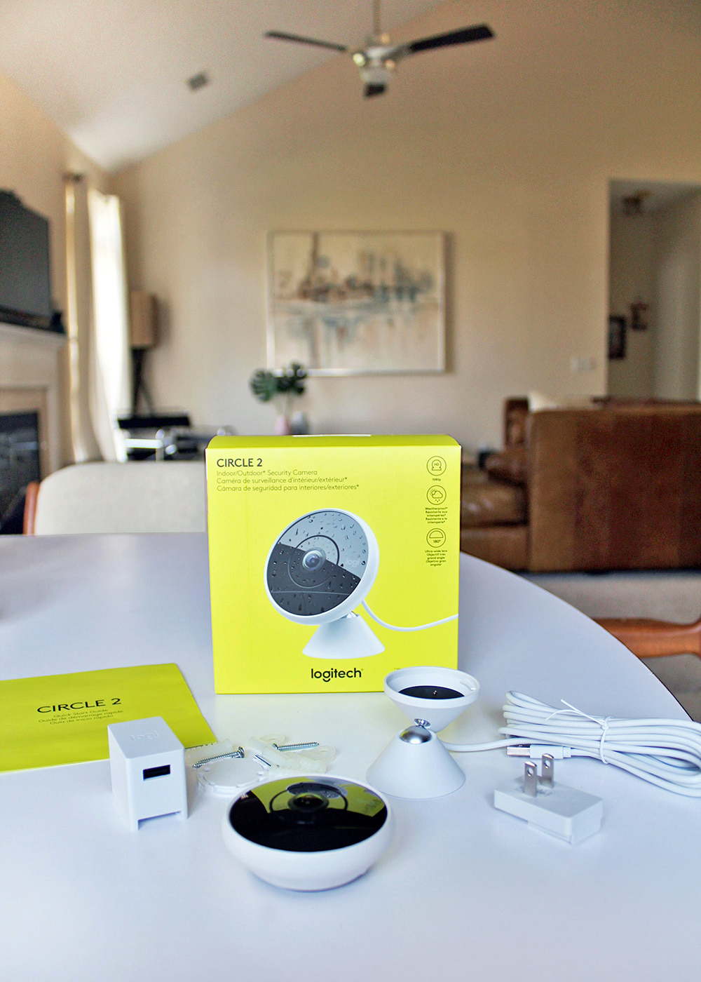 Why We Installed a Circle 2 Security Camera in Our Home #ad #CircleIt #hometech #smarttech