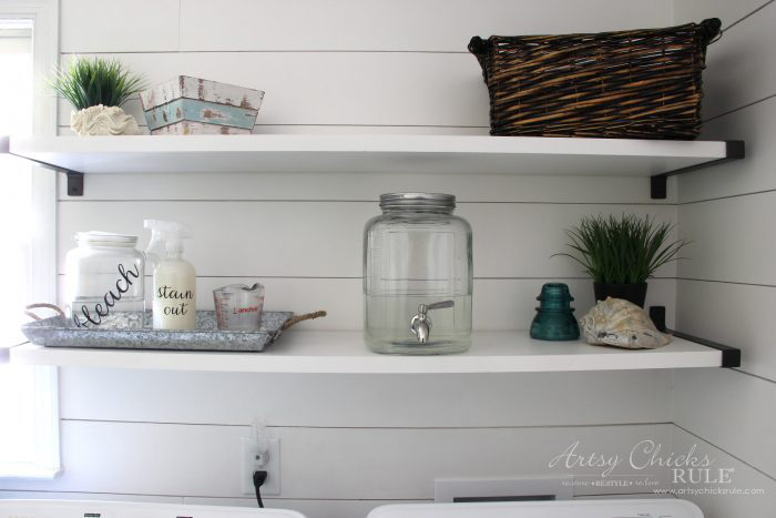 Glass Containers for Detergent | Artsy Chicks Rule