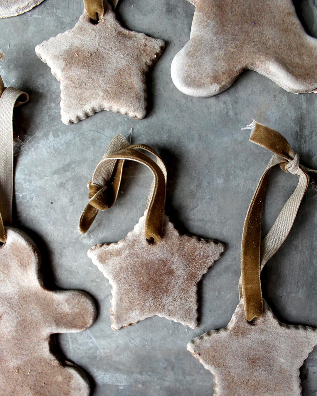 recipe for  Salt Dough with Cinnamon & Maple Ginger Tea