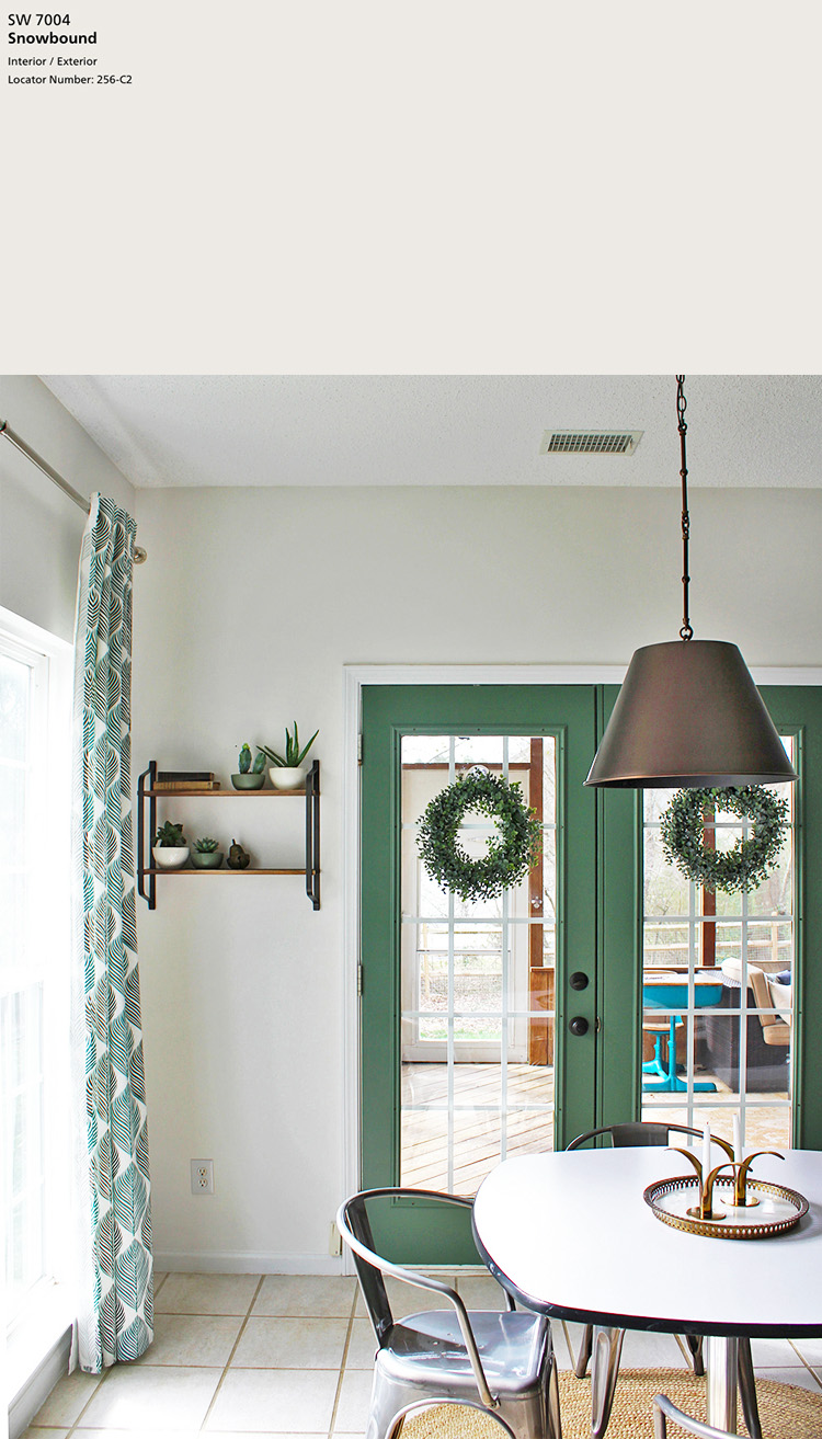 Sherwin-Williams Snowbound SW 7004   10 best Sherwin-Williams White Paint Colors